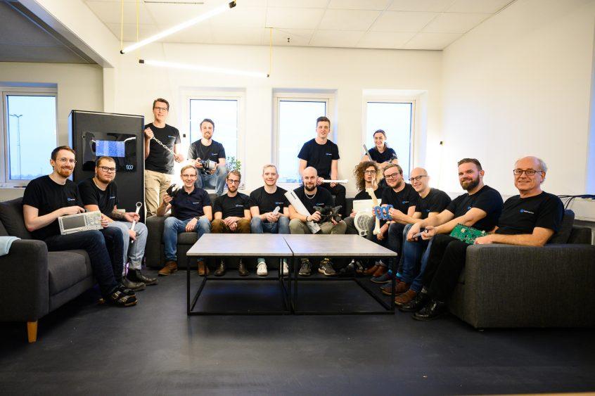 Skrivartillverkarens Wematters team.