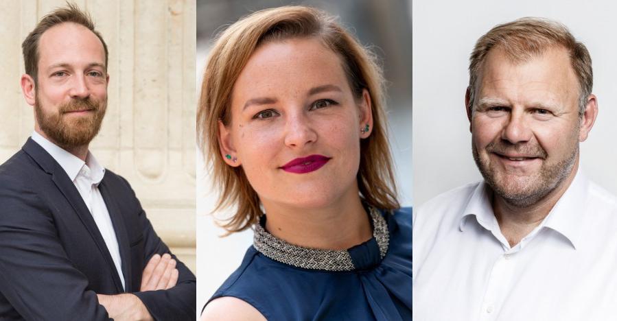 Matthew Forrester från Loreal, Danielle Glasbergen-Benning från DSM och Paul Heiden från Ultimaker är några av deltagarna i podcasten Talking Additive.