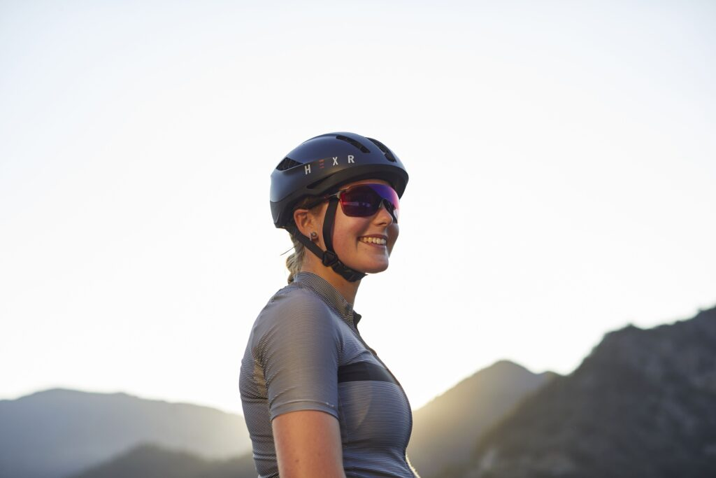HEXR använder additiv tillverkning för att ta fram individanpassade cykelhjälmar. Foto: Pressbild