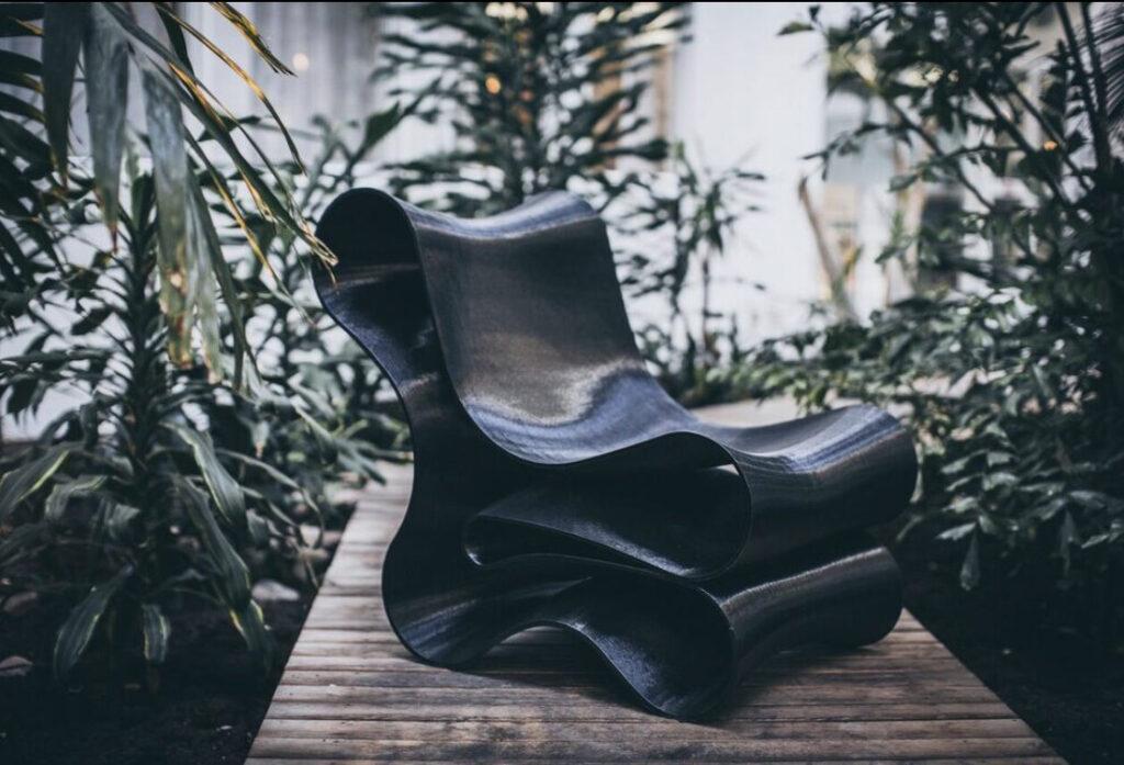 Sculpturs första möbel – stolen Reform. Foto: Pressbild