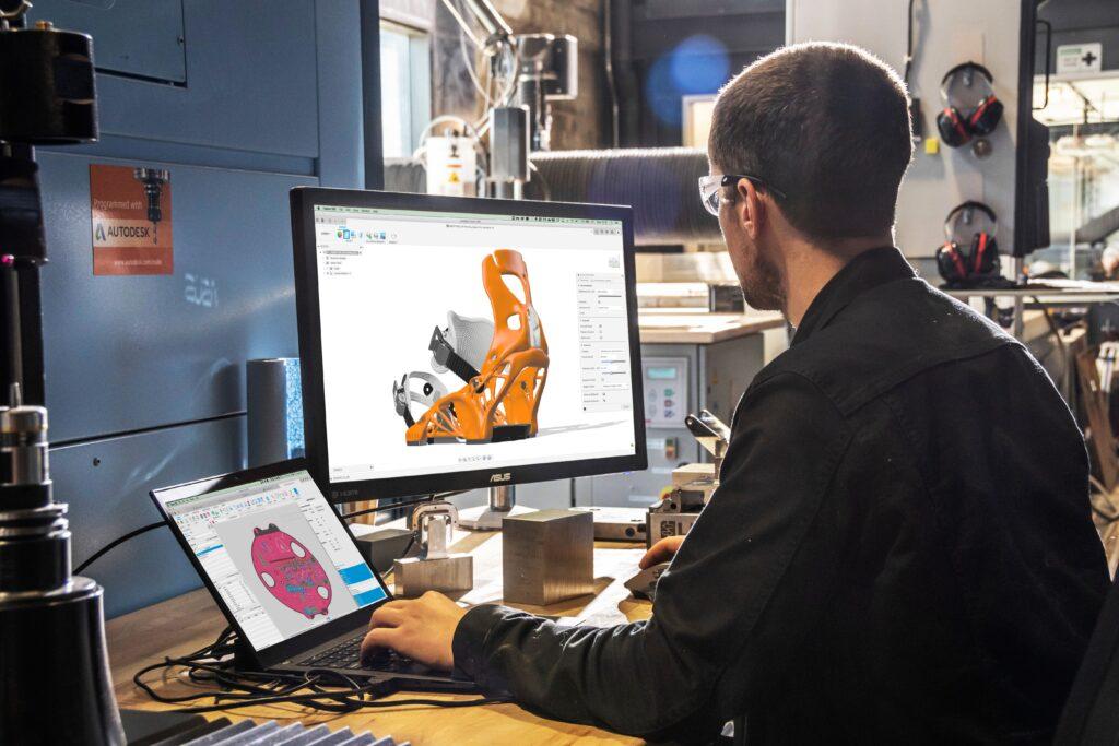 Det nya samarbetet mellan 3DVerkstan och Autodesk introduceras med ett webbinarium den 8 oktober. Foto: Autodesk