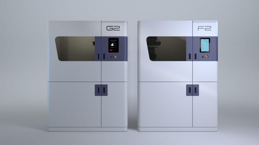 Generas nya system har företagets egna shuttle-teknik, vilket gör det möjligt att tillverka delar utan att behöva hantera dem manuellt. Foto: Genera
