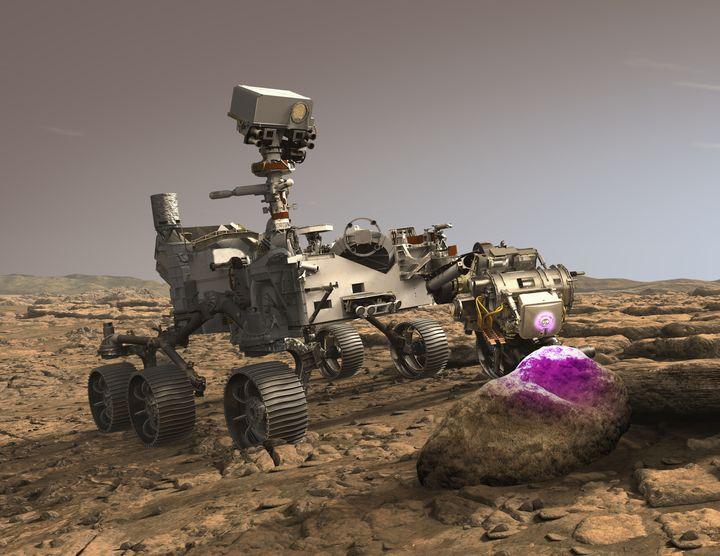 Perseverance Rover. Foto: NASA