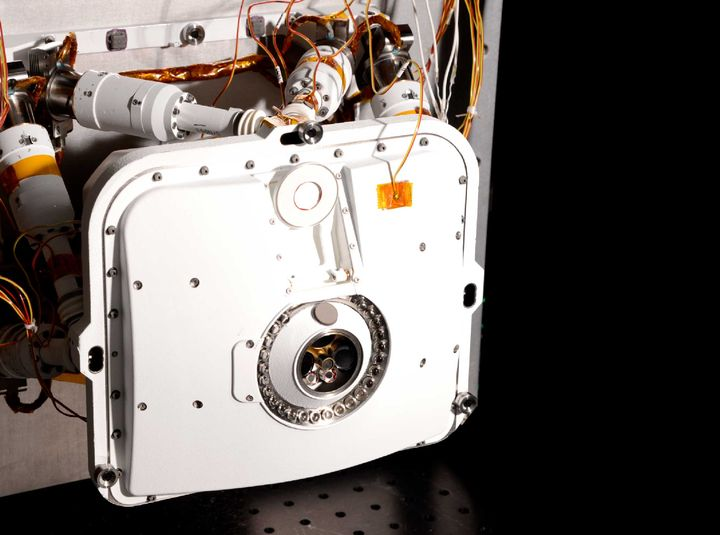 Perseverance Rovers PIXL-instrument. Foto: NASA