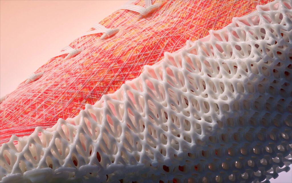 STRUNG heter den nya generationen av 3d-printade löparskor i Adidas produktportfölj. Foto: Adidas