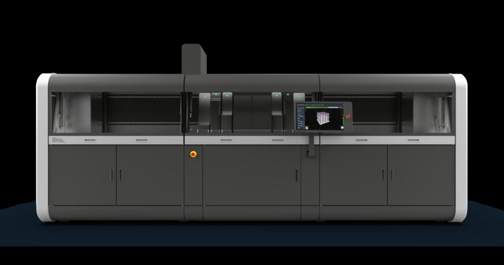 Desktop Metal Production System, som 3d-printar med företagets SPJ-teknik. Foto: Desktop Metal.