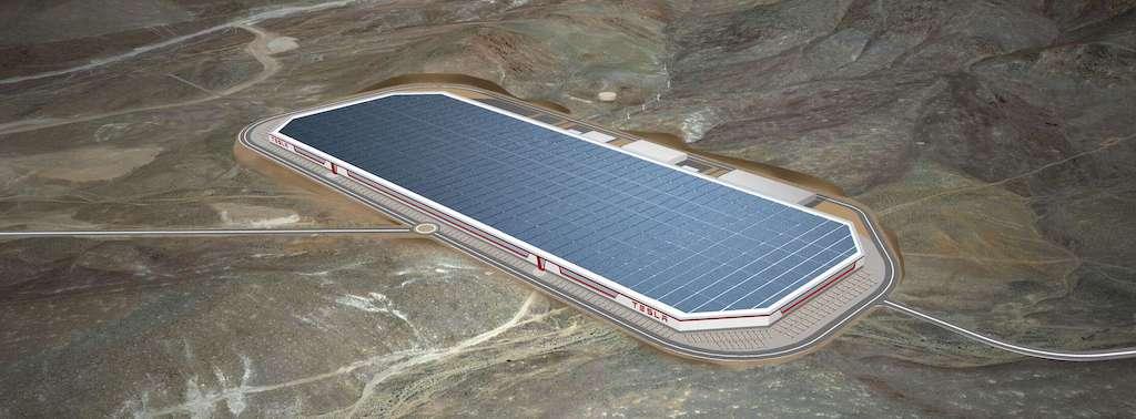 En jobbannons på Teslas Gigfabrik i Sparks, Nevada skapade vågor på aktiemarknaden. Foto: Tesla