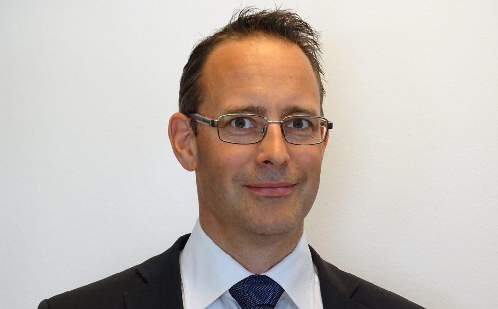 Johan Bäckström tog över som vd efter Martin Nilsson i september 2020. Foto: VBN Components