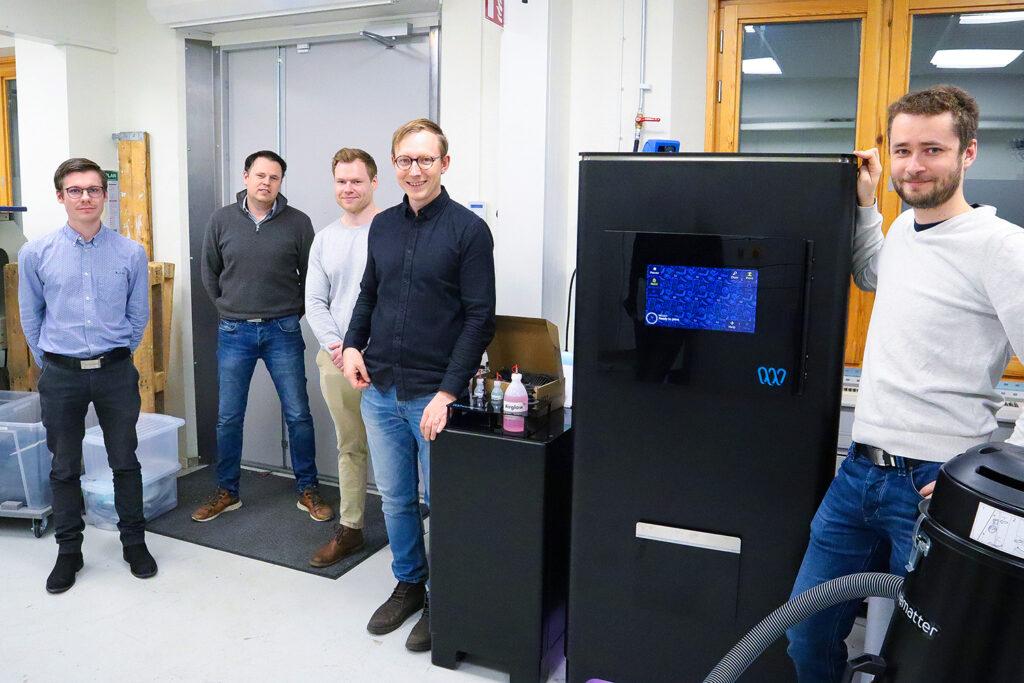 Wematter och Etteplan i nytt samarbete som inkluderar 3d-skrivaren Gravity 2021. Foto: Wematter